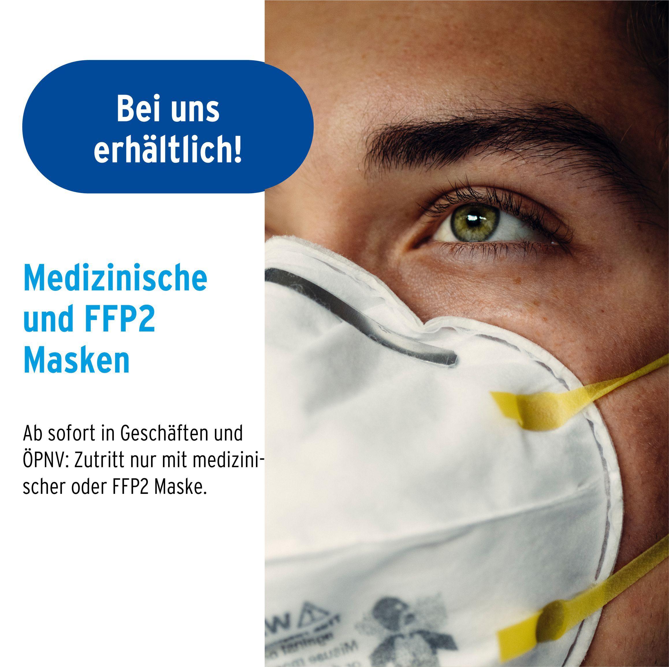 FFP2- und medizinische Masken